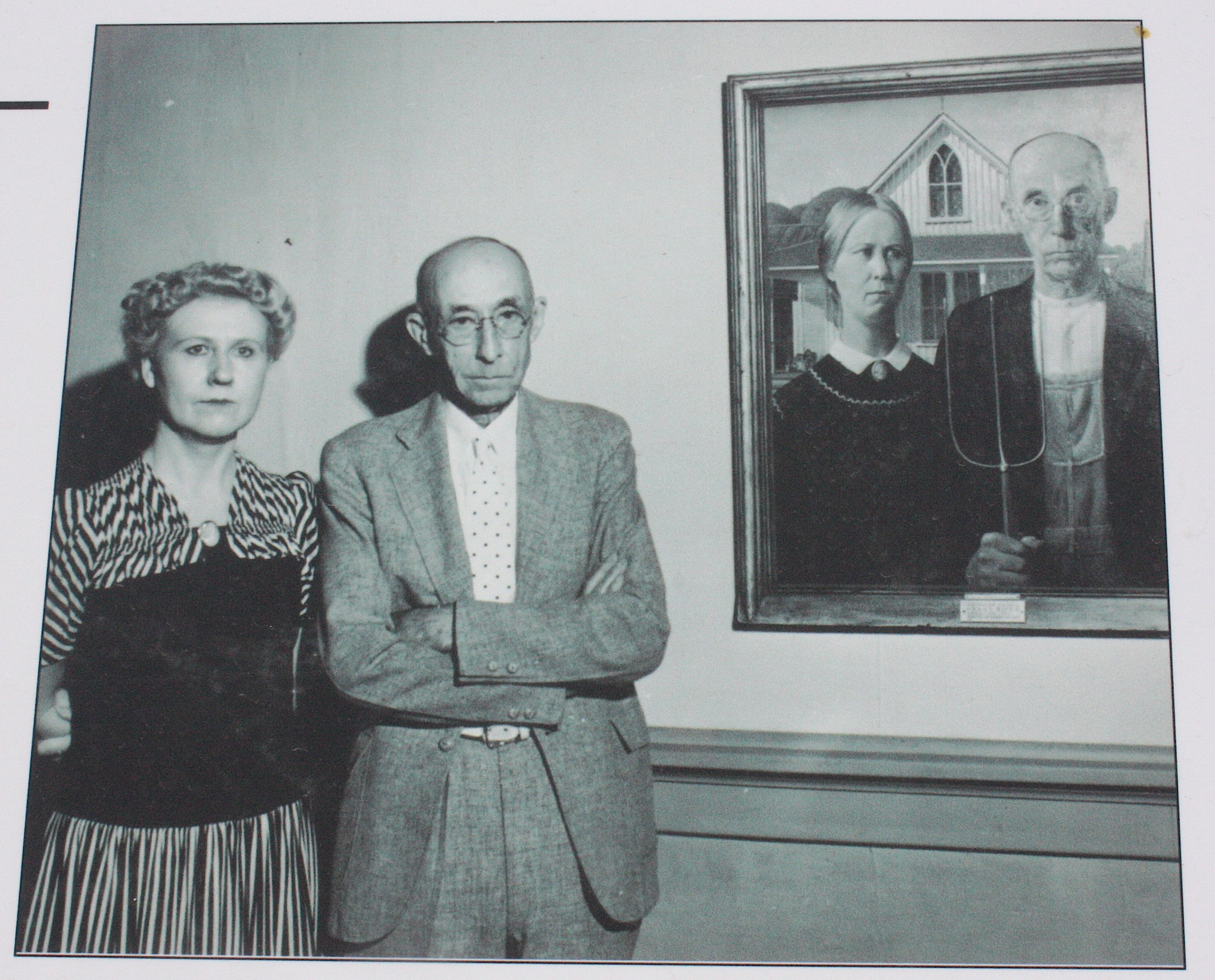 Back To Grant Wood The American Gothic