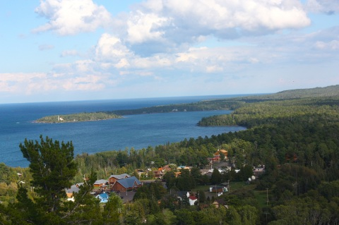 Copper Harbor overlook 3