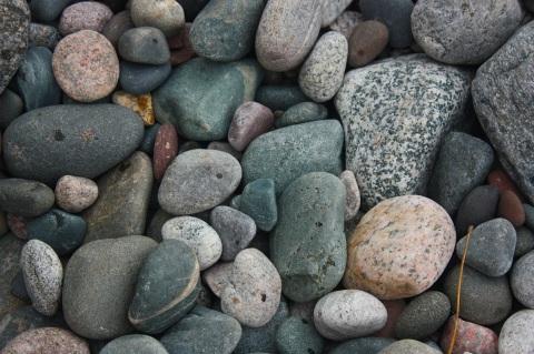 lake walk rocks